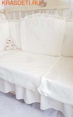 Eco-Line Набор в кроватку для новорожденных, Gracia. 11пр (фото, вид 1)