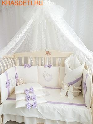Eco-Line Набор в кроватку для новорожденных Mary, 13 пр. (фото, вид 3)