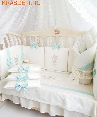 Eco-Line Набор в кроватку для новорожденных Mary, 13 пр. (фото, вид 4)