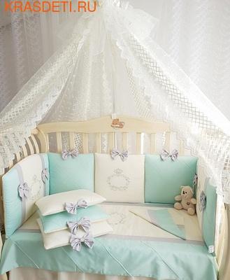 Eco-Line Набор в кроватку для новорожденных Mary, 13 пр. (фото, вид 5)