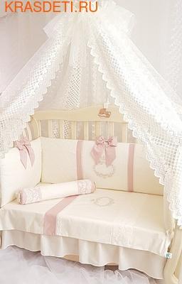 Eco-Line Набор в кроватку для новорожденных MILANA (фото, вид 1)