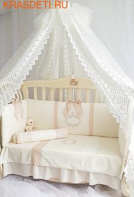Eco-Line Набор в кроватку для новорожденных MILANA (фото, вид 2)