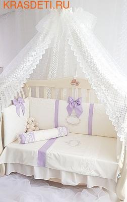 Eco-Line Набор в кроватку для новорожденных MILANA (фото, вид 3)