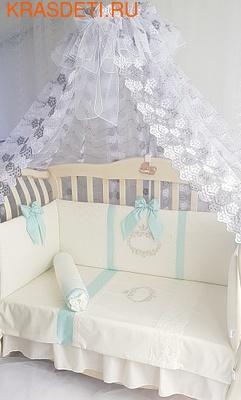 Eco-Line Набор в кроватку для новорожденных MILANA (фото, вид 5)