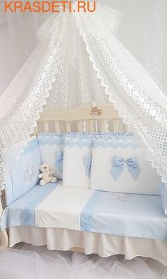 Eco-Line Набор в кроватку для новорожденных Madrid light (фото, вид 1)