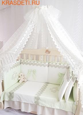 Eco-Line Набор в кроватку для новорожденных Madrid light (фото, вид 2)