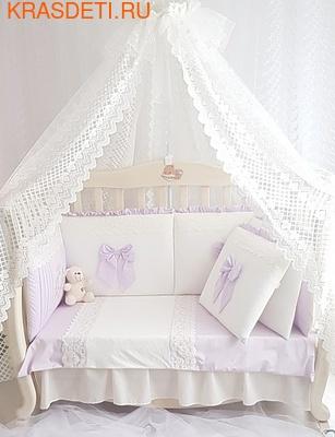 Eco-Line Набор в кроватку для новорожденных Madrid light (фото, вид 3)