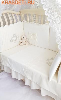 Eco-Line Набор в кроватку для новорожденных Madrid light (фото, вид 4)