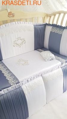 Eco-Line Набор в кроватку для новорожденных VALENSIA (фото, вид 1)