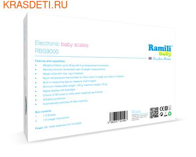 Ramili Детские электронные весы Baby RBS9000 (фото, вид 1)