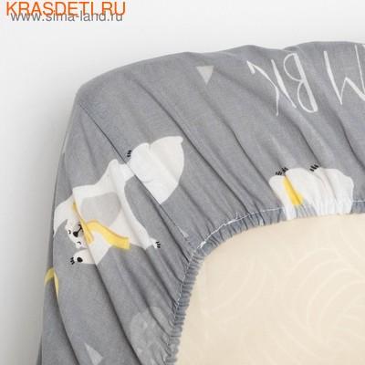 """Детское постельное бельё """"Крошка Я"""" «Большие мечты» (фото, вид 4)"""