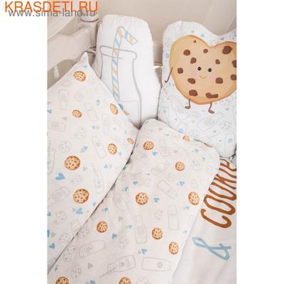 """Детское постельное бельё """"Крошка Я"""" Milk&Cookie (фото, вид 1)"""