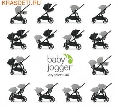 Baby Jogger Коляска CITY SELECT LUX Набор 1 (фото, вид 12)