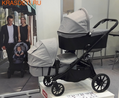 Baby Jogger Коляска CITY SELECT LUX Набор 3 (для двойни) (фото, вид 7)