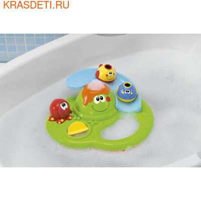 Chicco Игрушка для ванны «Остров с пузырьками» (фото, вид 2)