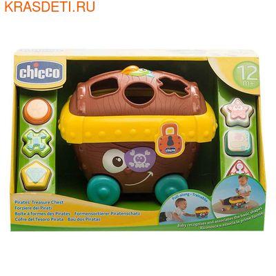 "Chicco Игрушка с формочками ""Сокровища пиратов"" (фото, вид 1)"