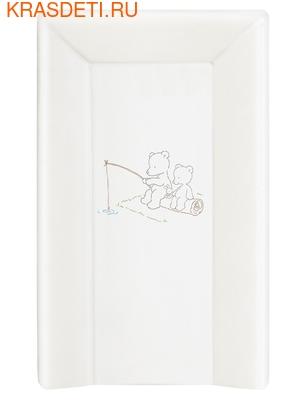 Пеленальный матрасик на кровать Ceba Baby 80 см на жёстком основании (фото, вид 3)