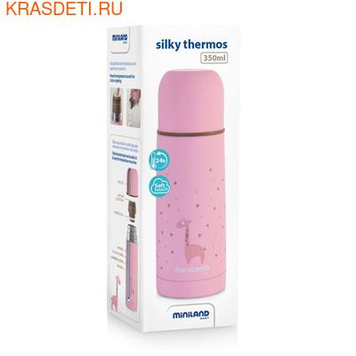 Детский термос для жидкостей Silky Thermos 350 мл (фото, вид 1)