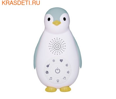 Zazu Пингвинёнок Зои 3 в 1 (Беспроводная колонка, проигрыватель, ночник) (фото, вид 2)