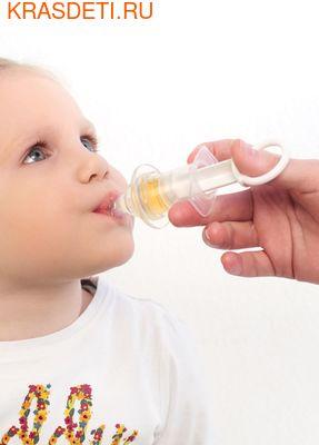 Happy Baby BABY DISPENSER WITH MEASURING CUP дозатор с мерным стаканчиком–колпачком (фото, вид 3)