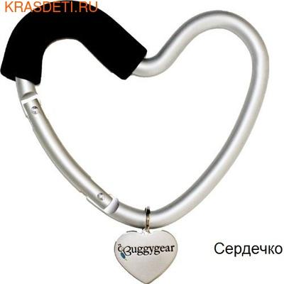 Крепление для сумок Buggygear Сердечко (фото, вид 1)