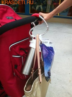 Крепление для сумок Buggygear Сердечко (фото, вид 3)