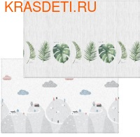 Детский коврик Parklon Pure Soft, 190x130x1.2 см (фото, вид 1)