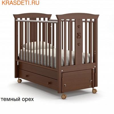 Nuovita Детская кровать Fasto swing продольный (фото, вид 1)