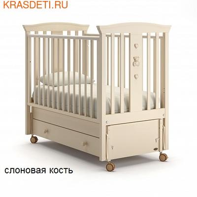 Nuovita Детская кровать Fasto swing продольный (фото, вид 2)