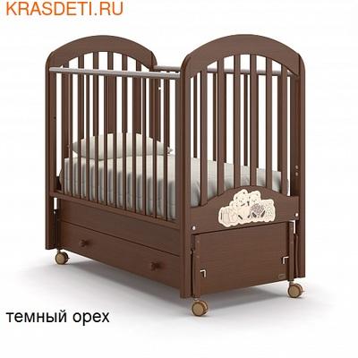 Nuovita Детская кровать Grano swing продольный (фото, вид 1)