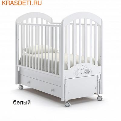 Nuovita Детская кровать Grano swing продольный (фото, вид 2)