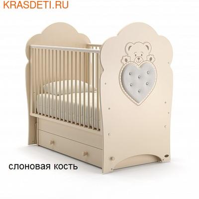 Nuovita Детская кровать Fortuna swing поперечный (фото, вид 1)