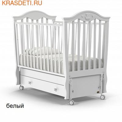 Nuovita Детская кровать Sorriso swing продольный (фото, вид 1)