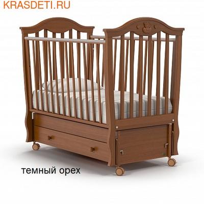 Nuovita Детская кровать Sorriso swing продольный (фото, вид 2)
