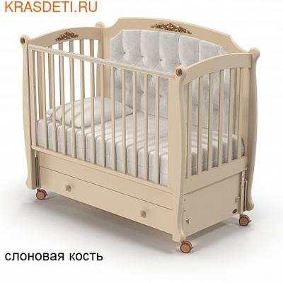 Nuovita Детская кровать Furore Swing продольный (фото, вид 2)