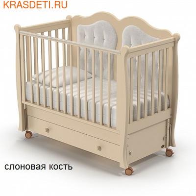 Nuovita Детская кровать Affetto Swing продольный (фото, вид 1)