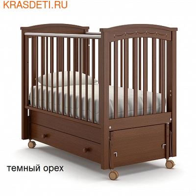 Nuovita Детская кровать Perla solo swing продольный (фото, вид 1)