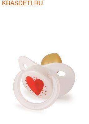 Happy Baby LATEX PACIFIER латексная соска–пустышка (фото, вид 1)