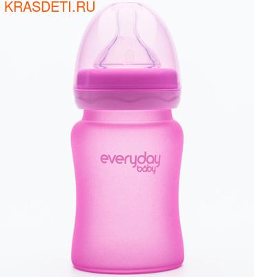EveryDay baby Бутылочка с индикатором температуры из стекла, 150 мл (фото, вид 4)