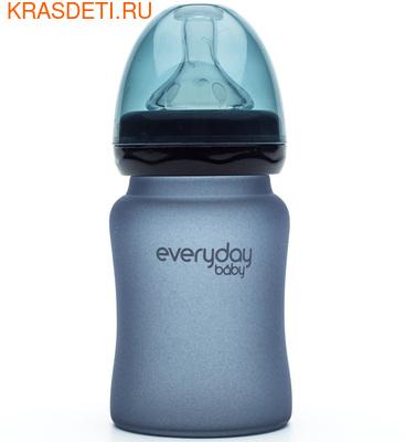 EveryDay baby Бутылочка с индикатором температуры из стекла, 150 мл (фото, вид 5)