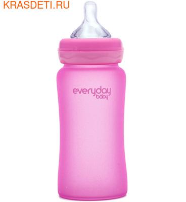 EveryDay Baby Бутылочка с индикатором температуры из стекла, 240 мл (фото, вид 4)