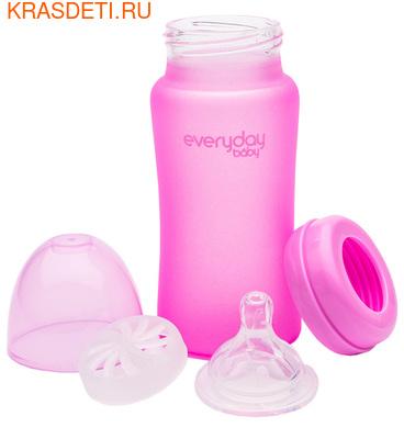 EveryDay Baby Бутылочка с индикатором температуры из стекла, 240 мл (фото, вид 5)