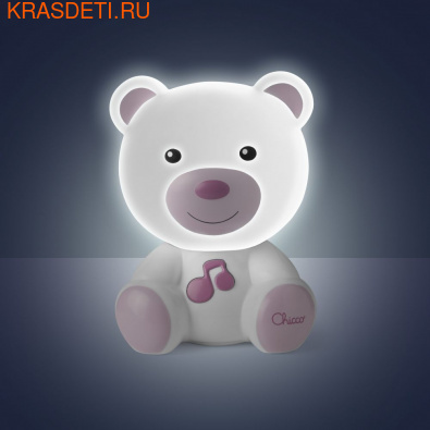 Chicco Ночник Медвежонок Dreamlight (фото, вид 2)