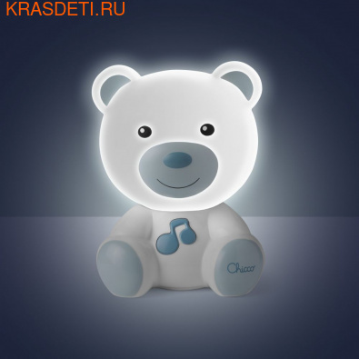 Chicco Ночник Медвежонок Dreamlight (фото, вид 3)