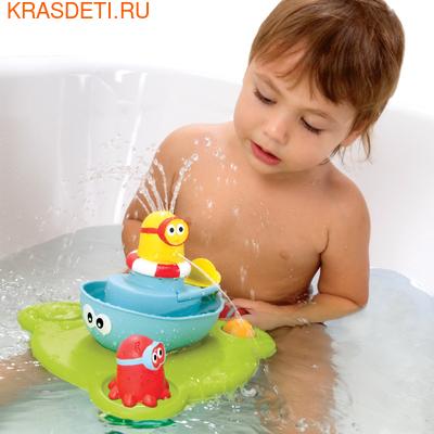 """Yookidoo Игрушка водная """"Веселый фонтан"""", пирамидка (фото, вид 2)"""