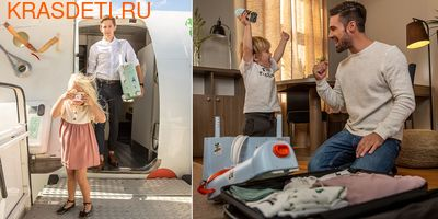 Чемодан-кроватка для путешествий JetKids by Stokke BedBox 2.0 (фото, вид 7)