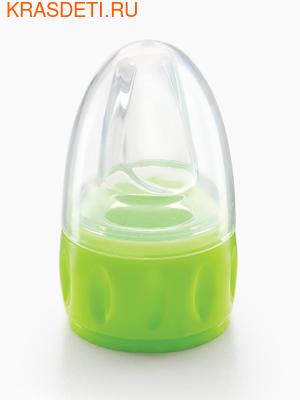 Соска-поильник для бутылок (спаут) силиконовая универсальная (фото, вид 1)