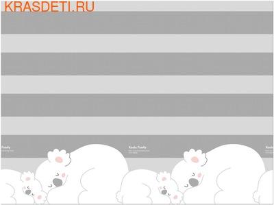Детский коврик Prime Living 'Коалы/Слоники за хвостики', 200x180x1.5 см (фото, вид 1)