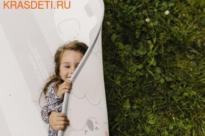 Детский коврик Prime Living 'Коалы/Слоники за хвостики', 200x180x1.5 см (фото, вид 3)