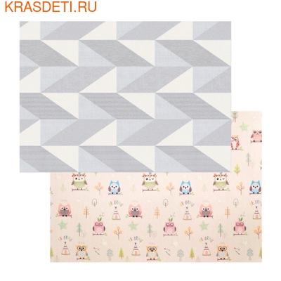 Детский коврик Parklon Prime Living, 200x150x1.0 см (фото, Совята/геометрия)
